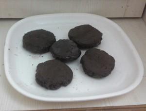 vanilla choco cookie