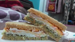 Tiranga sandwhich