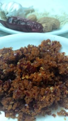 Dry lahsun chutney