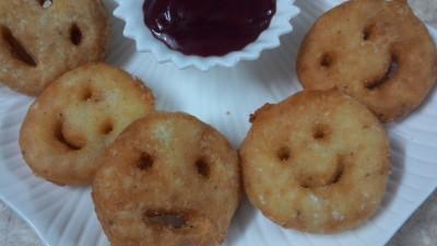 Potato smileys